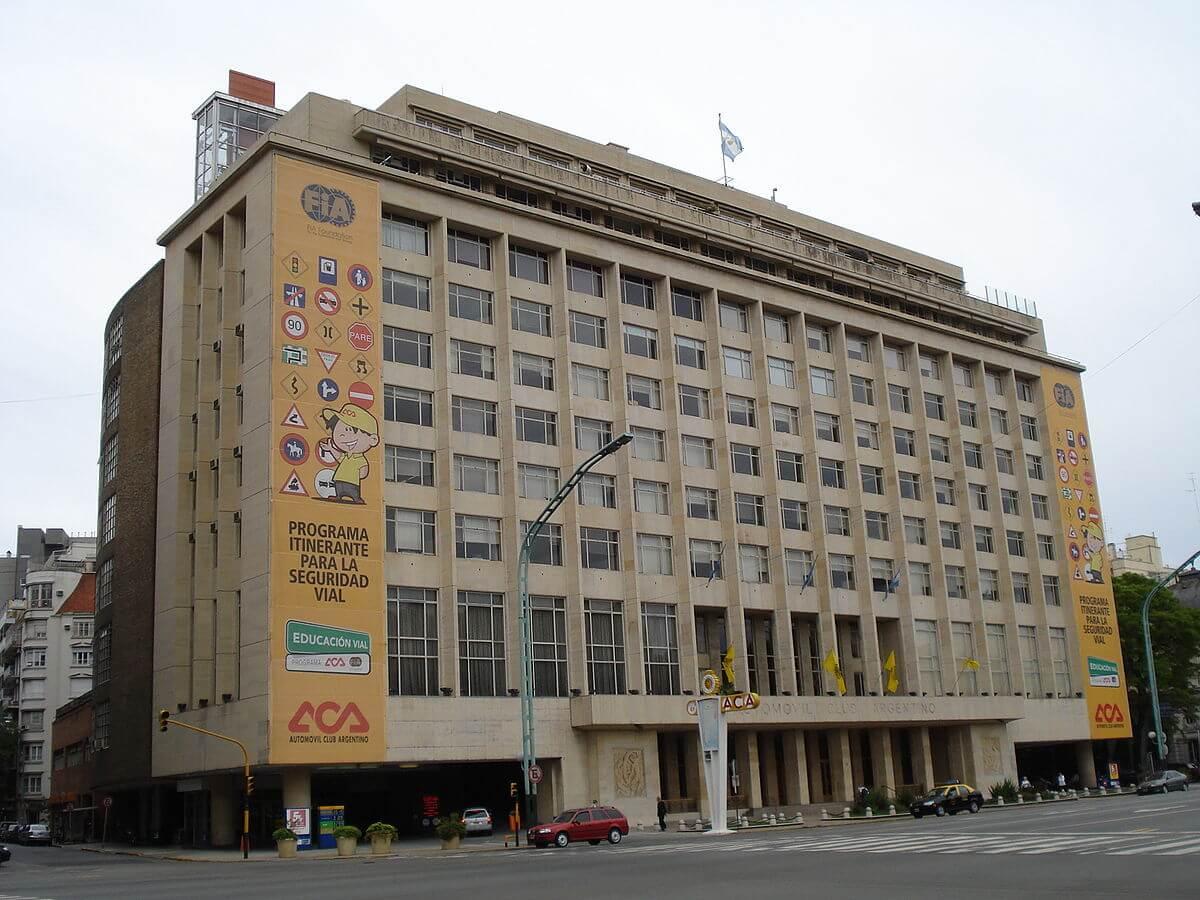 Sede Central del Automóvil Club Seguros en Buenos Aires